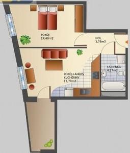 Niekorzystny kształt mieszkania wg. Feng Shui