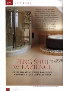 Feng Shui w łazience